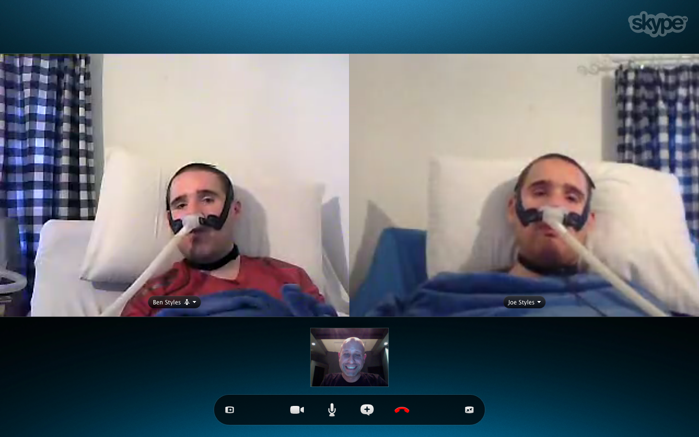Skype with the Lads May 14